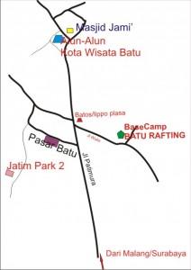 Peta batu Rafting