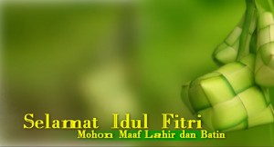 Outbound malang - selamat hari raya idul Fitri